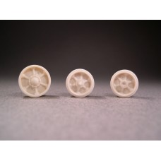 F041 - Pressed Spoked Sherman Wheels w/ Idlers and Spare