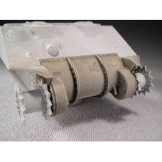 F032 - Early Sherman Three Piece Transmission Cover without Bullet Splash